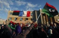 Express Reuters Drapeau français en Libye Mars 2011.jpg